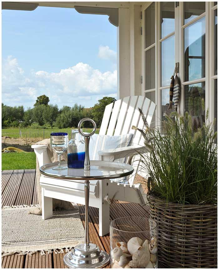 MARWITZKY HOMESTORIES Einrichtungen | Groß Schwansee Terrasse